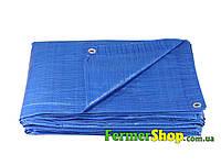 Тент водонепроницаемый BLUE 60 г/м², размер: 6х10 м - Польша