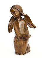 Подсвечник, скульптура, ангел, дерево, Германия, фото 1