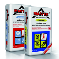 Клей  для плитки Master Стандарт для закрепления облицовочных материалов