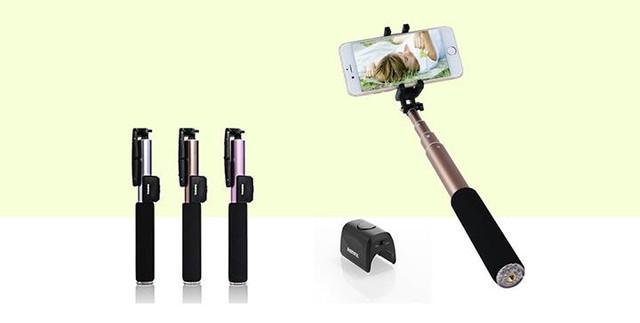 Monopod Remax P4 bluetooth selfie