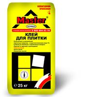 Клей для плитки Master Нормал для закрепления облицовочных материалов