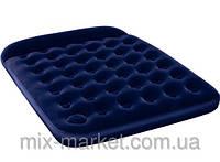 Двуспальный надувной флокированный матрас BestWay 67227