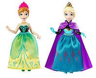 Disney Холодное сердце сестры Принцесса Эльза и Анна Frozen Princess Sisters Celebration Anna and Elsa Small Doll