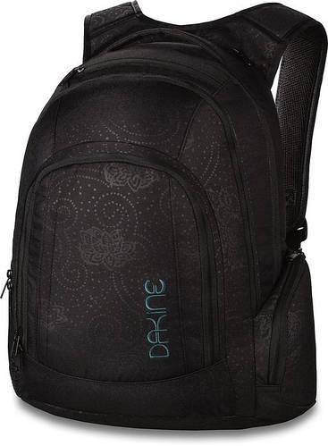 Шикарный рюкзак черного цвета в принт для девушек Dakine FRANKIE 26L ellie 610934961942