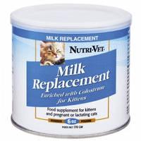 Nutri-Vet Kitten Milk НУТРИ-ВЕТ МОЛОКО ДЛЯ КОТЯТ заменитель кошачьего молока для котят, 170 гр