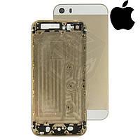 Корпус для Apple iPhone 5S, оригинальный (светло-золотистый)
