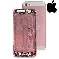 Корпус для Apple iPhone 5S, оригинальный (светло-розовый)
