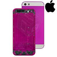 Корпус для Apple iPhone 5S, оригинальный (фиолетовый)
