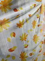 Тюль вуаль Кленовый лист - 6 + 14 метров