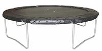 Батут диаметр - 426 см с защитной сеткой Kidigo VIP Black
