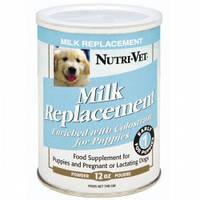 Nutri-Vet Puppy Milk НУТРИ-ВЕТ МОЛОКО ДЛЯ ЩЕНКОВ заменитель сучьего молока для щенков, 340 гр