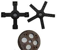 Переходник для балансировки колёс грузовых автомобилей без центрального отверстия в диске