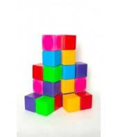 Кубик цветной в сетке 20 эл.