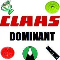 Запчасти на пресс подборщик Claas Dominant