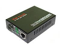 Медиаконвертер TK-link 10/100/1000mb 1SFP+1RJ45