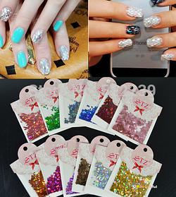 Ромбики для дизайна ногтей