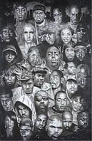 Плакат музыка Хип-Хоп №1332