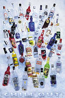 Плакат алкоголь - Водка №1367
