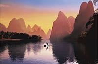Плакат природа - большая река №3763