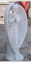 Скульптура ангела из мрамора № 88