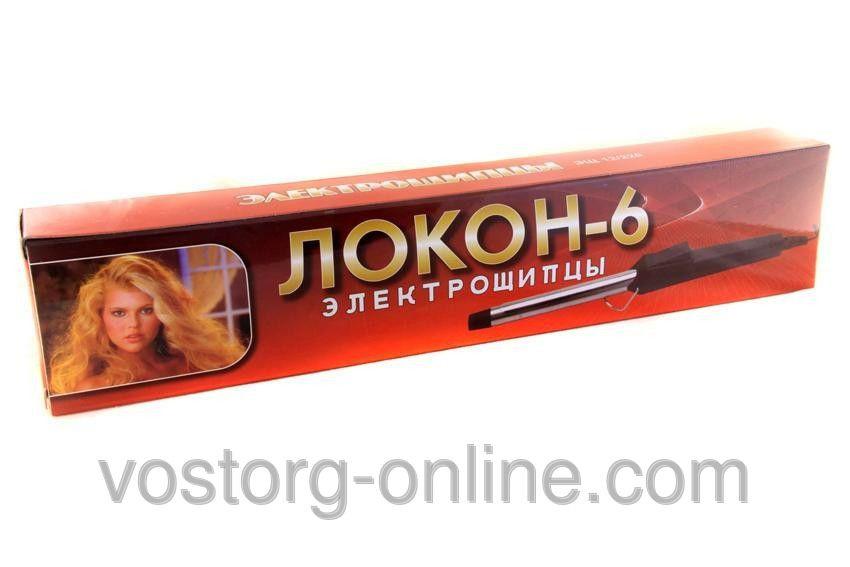 Щипцы для завивки, плойка Локон 6, приборы для укладки волос, красивые локоны