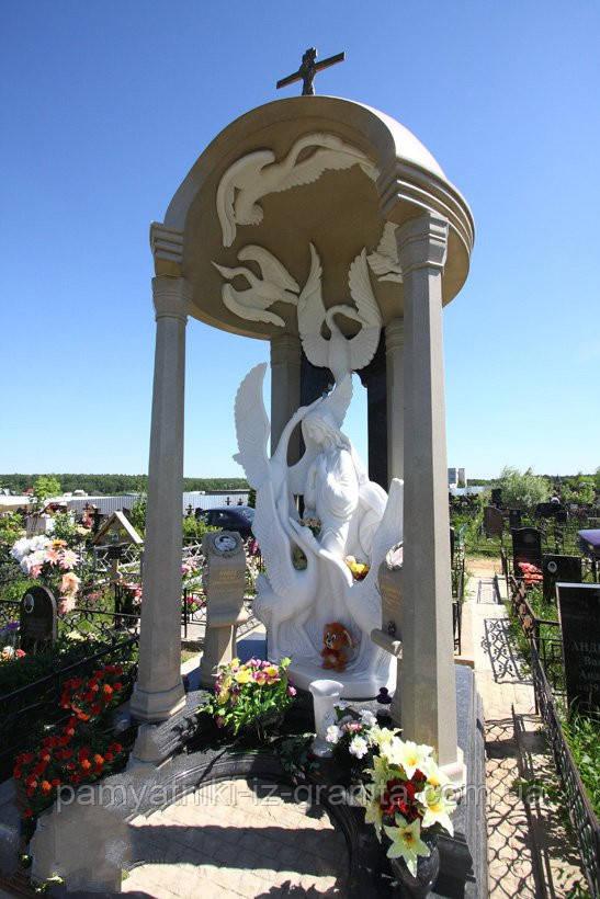 Скульптура ангела из мрамора № 90
