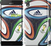 "Чехол на Sony Xperia Z3 D6603 Бразилия 2014 v5. Мяч ""1141c-58"""