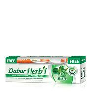 Зубна паста - Базилик DABUR HERB'L 150 г + щетка