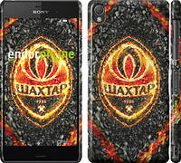 "Чехол на Sony Xperia Z3 D6603 Шахтёр v4 ""1207c-58"""