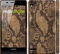 """Чехол на Huawei Ascend P6 Змеиная кожа """"2359c-39"""""""