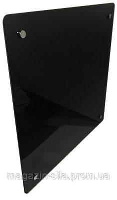 Стеклокерамика. Обогреватель H.GLASS 600х600мм 400Вт черный