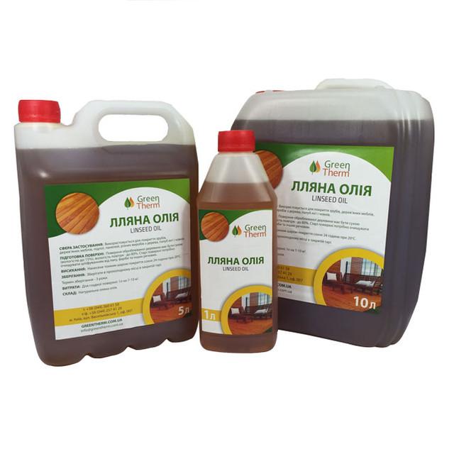 Льняное масло, воск GreenTherm