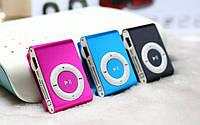 Мр3 плеер дизайн iPod Shuffle + наушники + USB кабель. Плеер клипса
