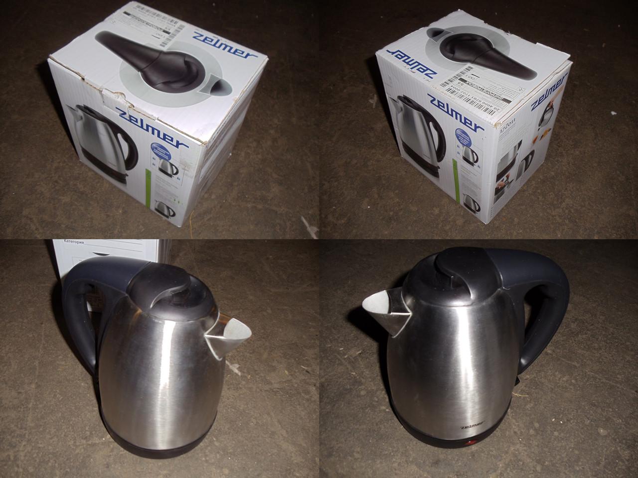 Чайник ZELMER ZCK1170X (17Z011 Inox) - Уценка (077)