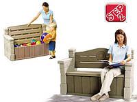 Контейнер для игрушек + скамья