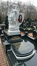 Скульптура ангела из мрамора № 29