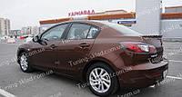 Спойлер Mazda 3 BL (спойлер на крышку багажника Мазда 3 BL)
