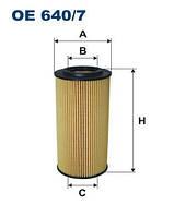 Фильтр масляный MERCEDES E (W210), S (W220) 3.2D 99-09
