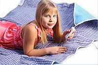 Электропростынь двуспальная, одеяло с подогревом 150х120 см.