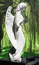 Скульптура ангела из мрамора № 39