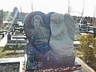 Скульптура барельеф ангела из гранита № 41, фото 2