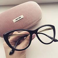 Очки женские Miu Miu прозрачные, магазин очков