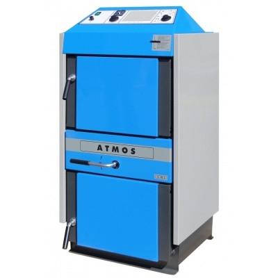 Пиролизные угольные твердотопливные котлы Atmos C 50S (Атмос)