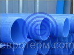 Обсадная труба для скважин 90 Evci Plastik синяя 3м