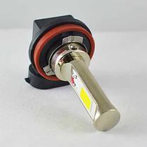 Автомобильная лампа в ПТФ, SLP LED под цоколь H11/H8/H9, светодиоды типа COB 18W 9-30 В. Белый, фото 2