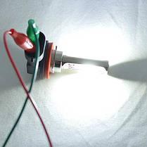Автомобильная лампа в ПТФ, SLP LED под цоколь H11/H8/H9, светодиоды типа COB 18W 9-30 В. Белый, фото 3