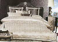 Жаккардовое постельное белье Arya Броде  Lilian