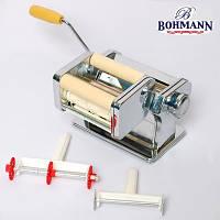 Лапшерезка тестораскатка с насадкой для равиоли - Bohmann BH 7778