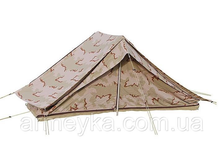 Палатка Nederlandse krijgsmacht в расцветке desert DPM. ВС Нидерландов, оригинал.