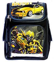 Школьный ранец Vombato Робот 7821-1 серый R01